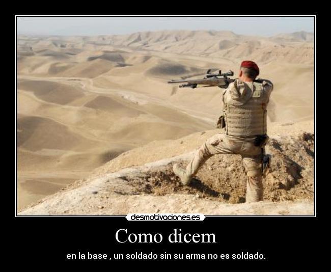 Pin Desmotivaciones Amor Militar Militares Frases