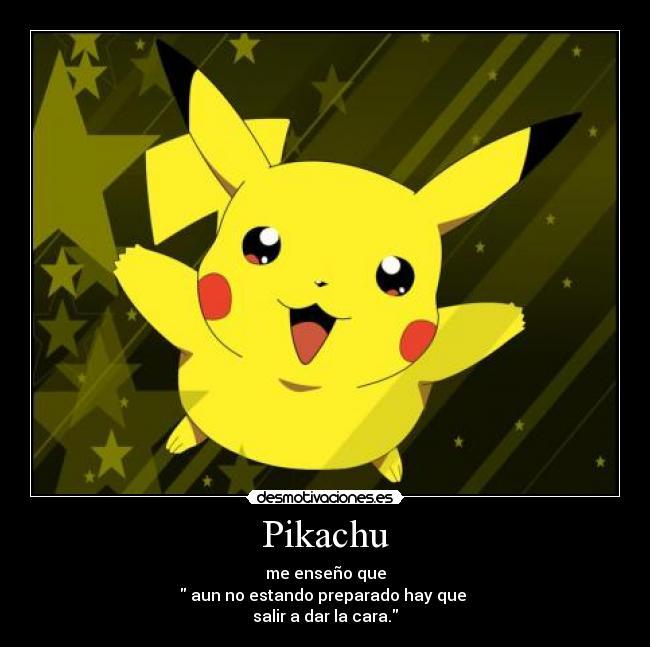 Pikachu | Desmotivaciones