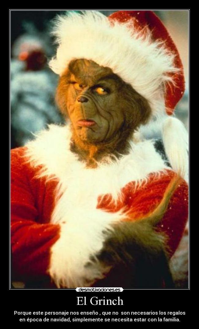 carteles grinch navidad familia desmotivaciones