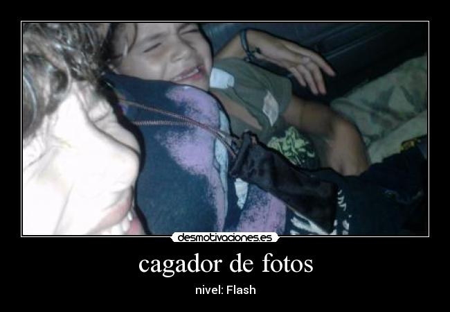 cagador de fotos - nivel: Flash