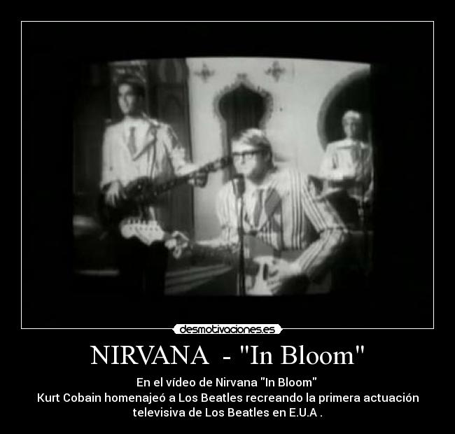 how to play in bloom by nirvana