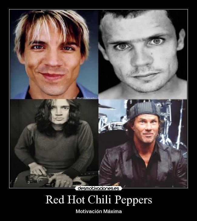 carteles red hot chili peppers desmotivaciones