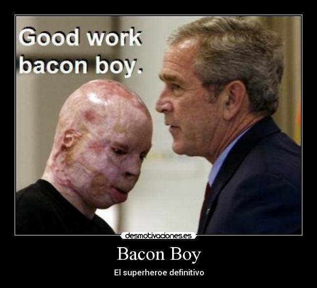 Bacon Boy - El superheroe definitivo