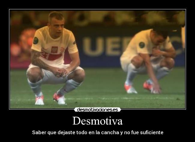 carteles futbol campeonato decepcion tristesa desmotivaciones dc07a5d86940c