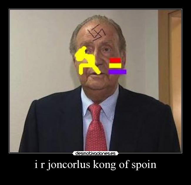 i r joncorlus kong of spoin -