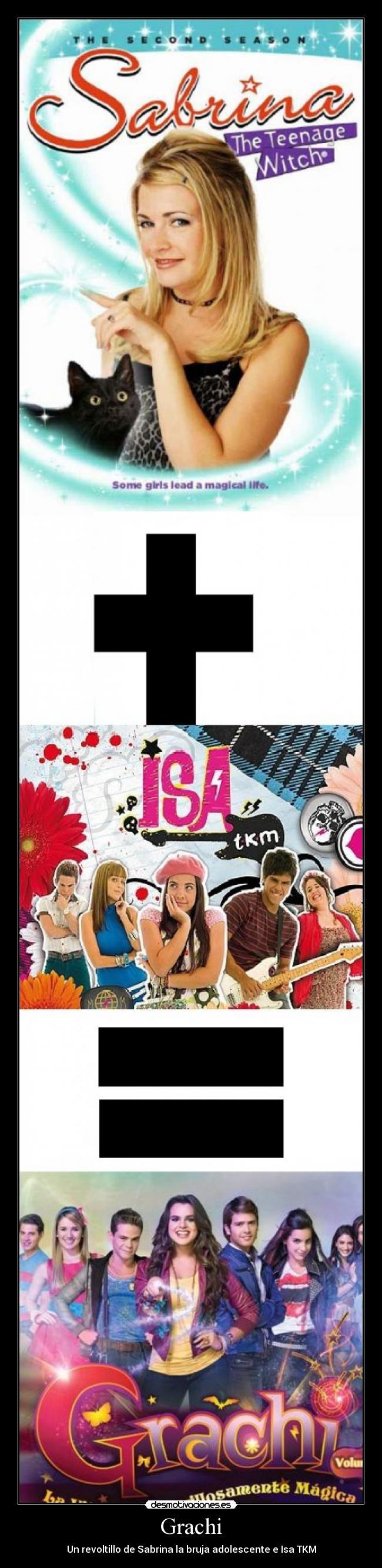 Grachi - Un revoltillo de Sabrina la bruja adolescente e Isa TKM