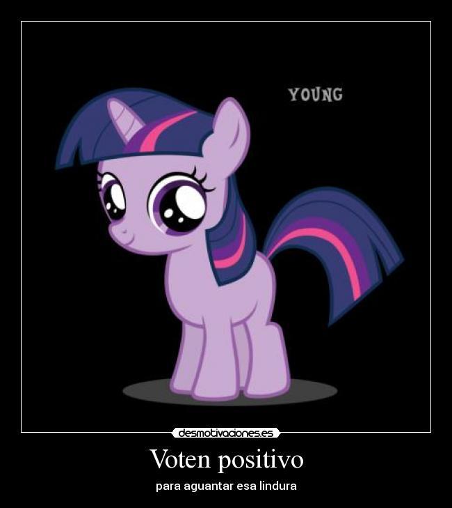 Voten positivo | Desmotivaciones