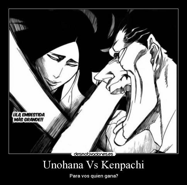 Unohana Vs Kenpachi | Desmotivaciones