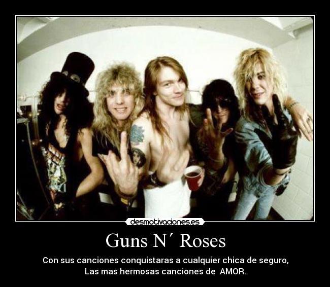 guns n roses canciones mas famosas