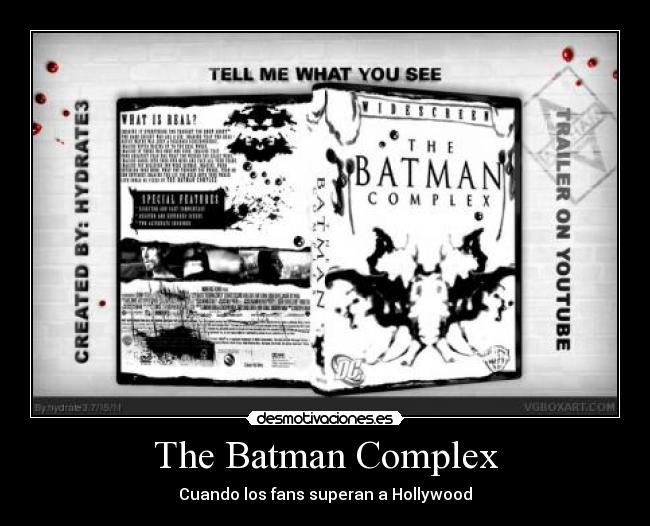 The Batman Complex - Cuando los fans superan a Hollywood