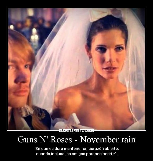 letras de los guns: