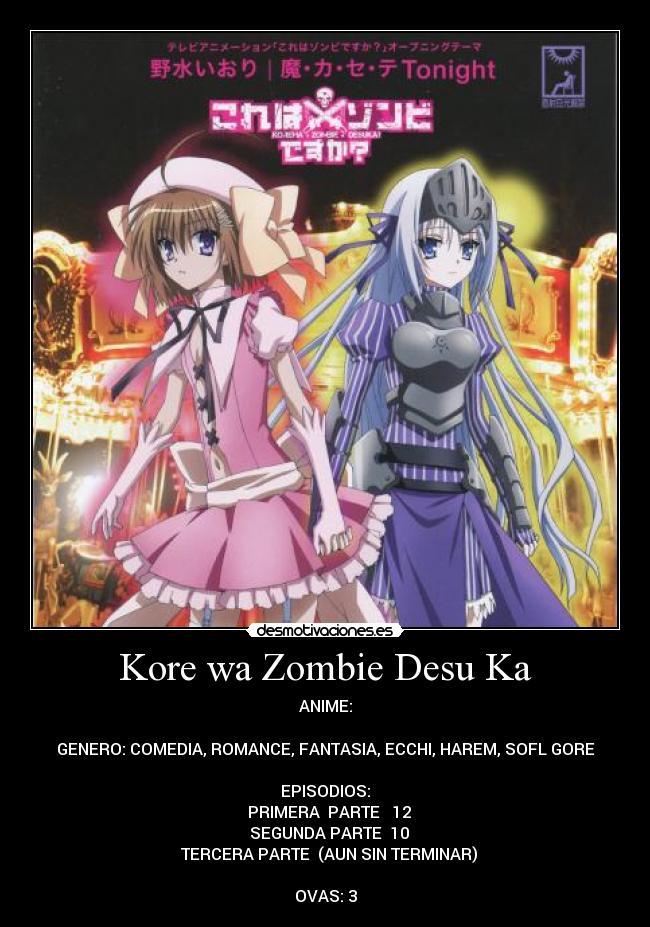 Kore wa zombie desu ka 9 animepremium