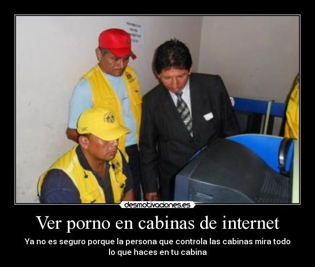 sexo en cabinas de internet