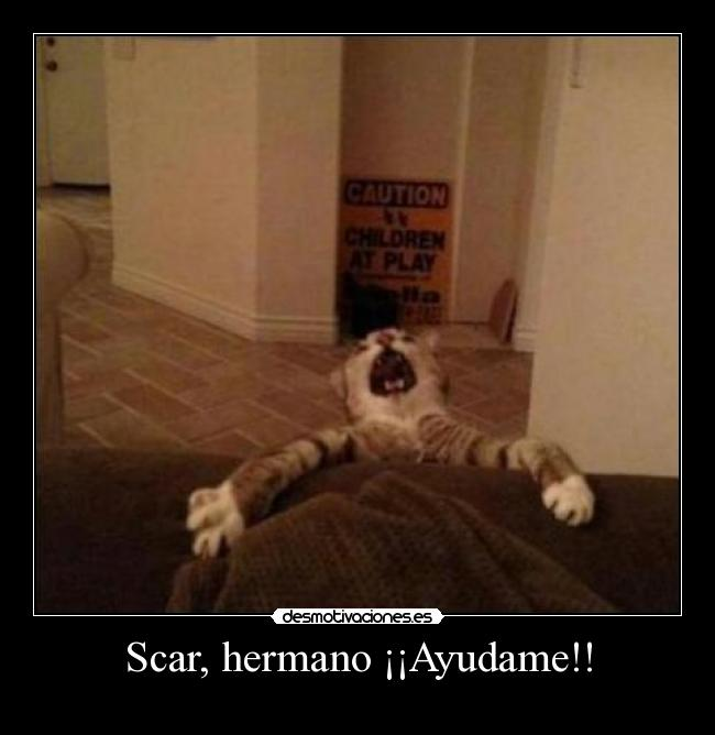 Scar, hermano Ayudame!! - 