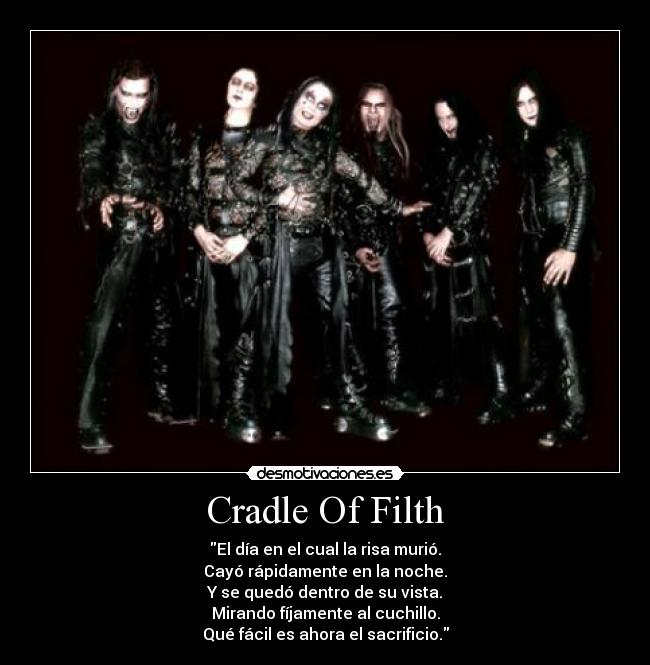 Cradle of filth новый альбом 2018