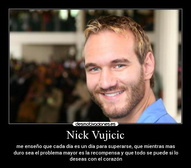 Top Nick Vujicic | Desmotivaciones KD61