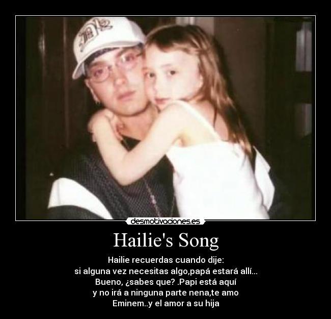 letra de hailies song eminem:
