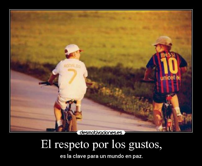 carteles respeto cr7 messi barcelona madrid joker desmotivaciones