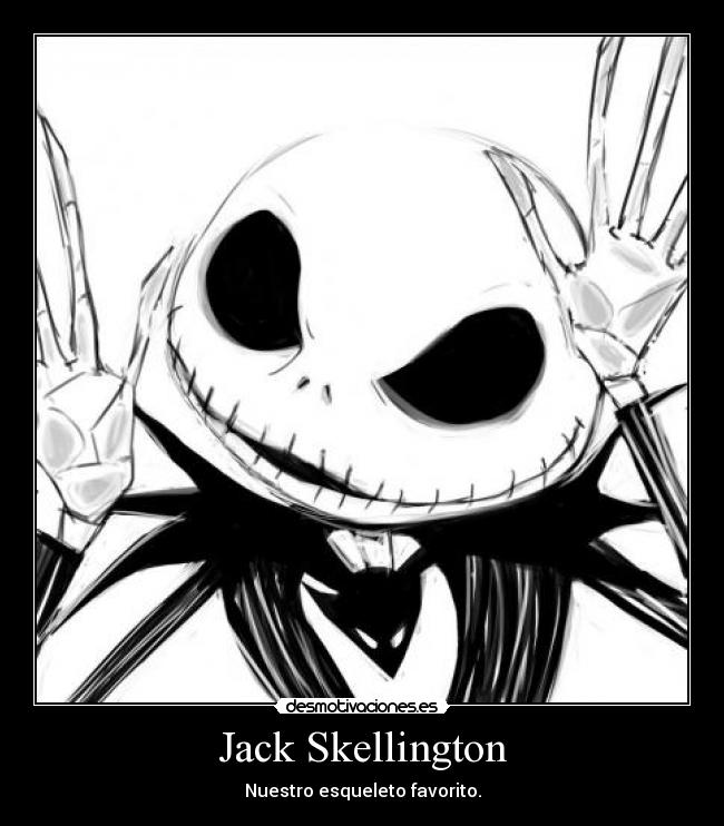 Nightmare before christmas jack coloring pages - Dibujos De Jack El Esqueleto Imagui