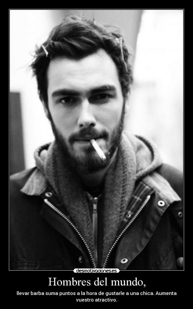 barba hombres del mundo, desmotivaciones