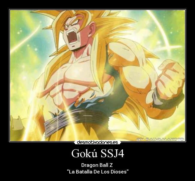 Dragon Ball Z Goku SSJ4