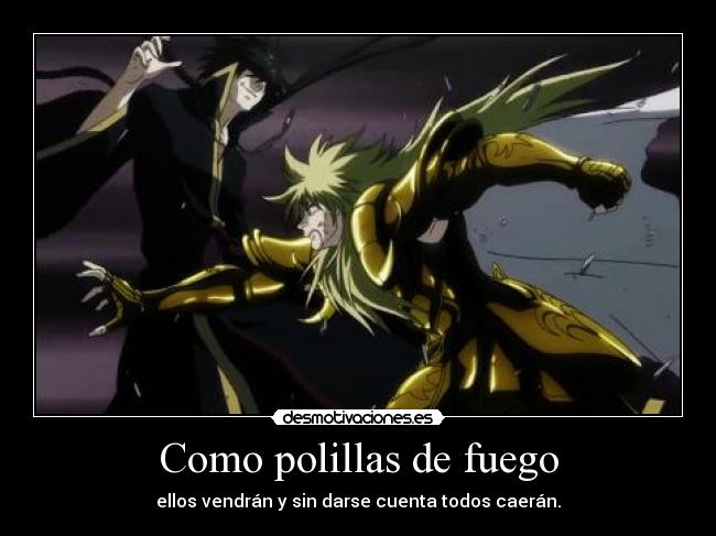 carteles hades shion aries saint seiya lost canvas desmotivaciones
