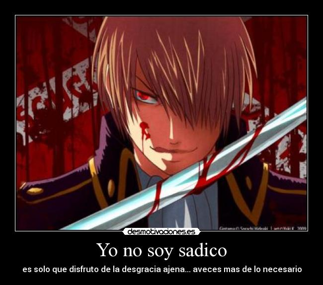 Yo No Soy Sadico