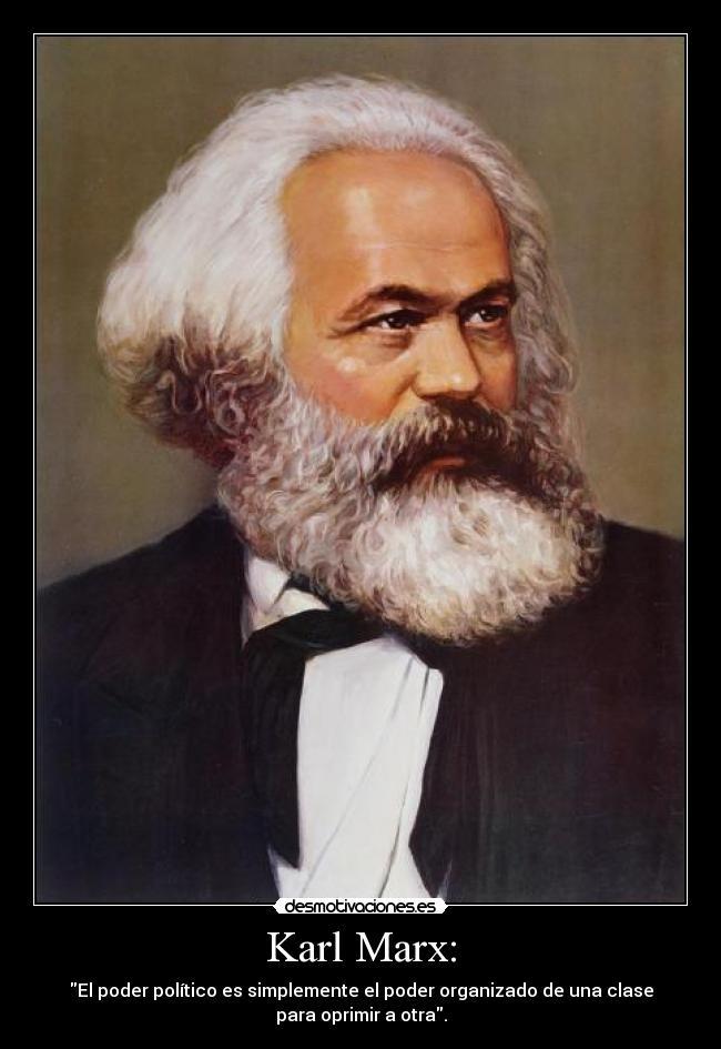Karl Marx Desmotivaciones