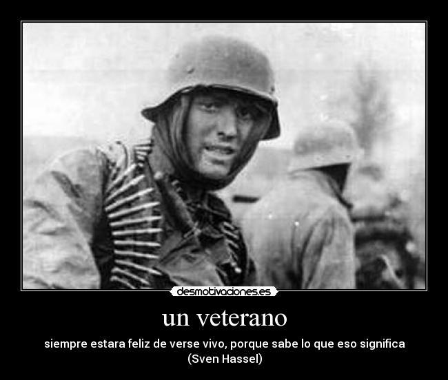 veteranos combatientes segunda guerra mundial desmotivaciones
