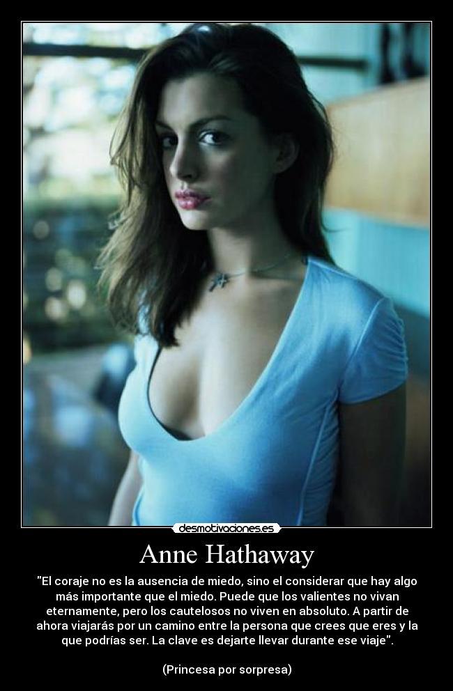 Anne Hathaway Desmotivaciones