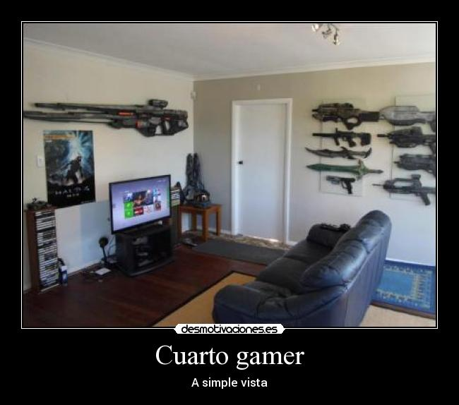 Cuarto gamer - A simple vista
