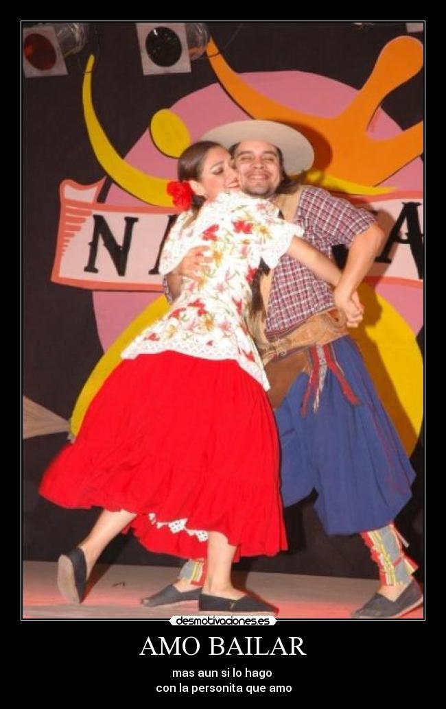Amo Bailar Desmotivaciones