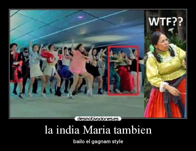 La India Maria Tambien Desmotivaciones