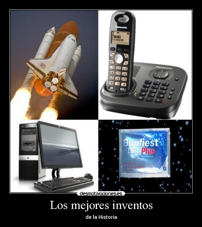 Los mejores inventos - de la Historia