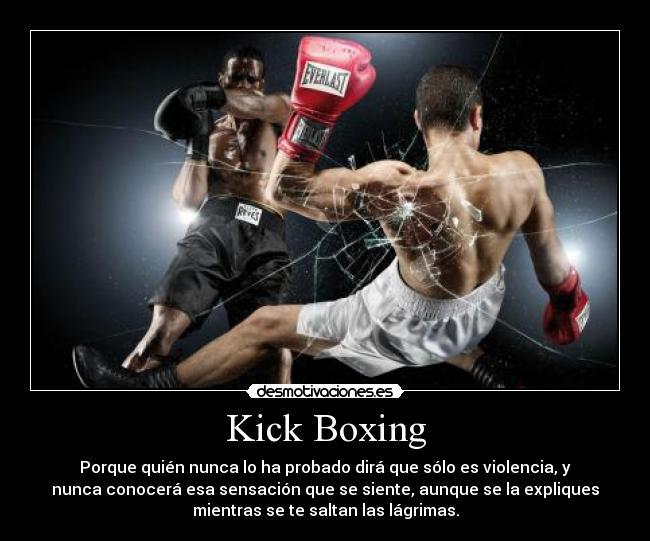 carteles hawk kickboxing vida doy todo aunque nadie entienda kaliso desmotivaciones