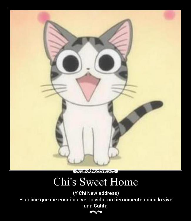 Chi is the main character of Chi's Sweet Home. She is a kitten who was ...