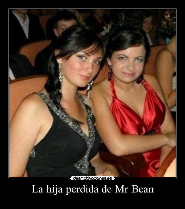La hija perdida de Mr Bean -