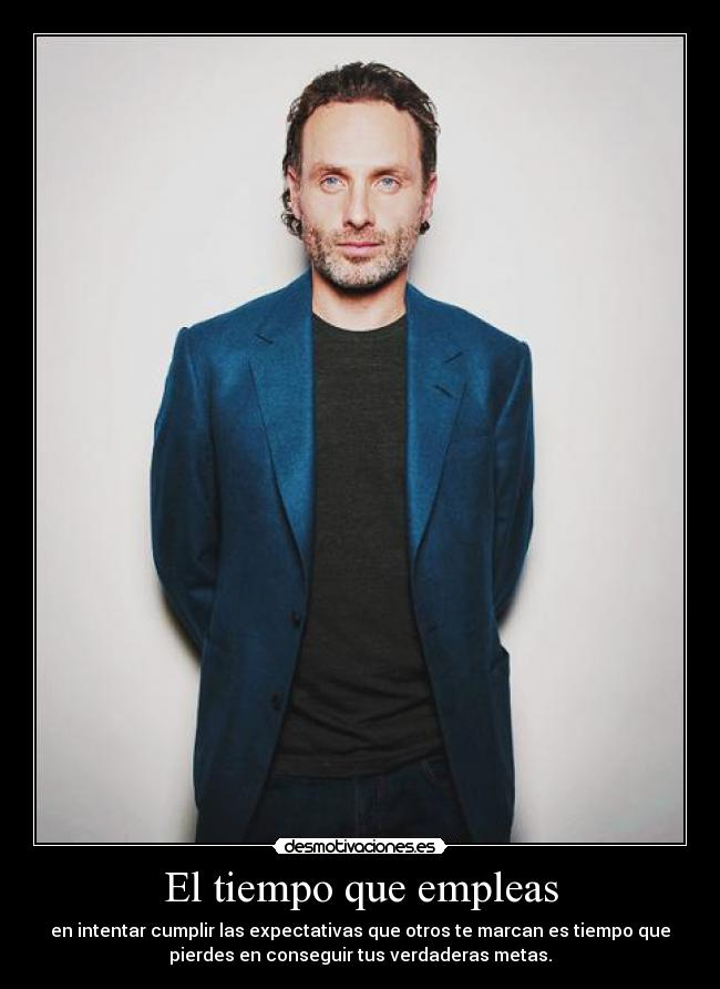carteles coldblood andrew lincoln eight desmotivaciones