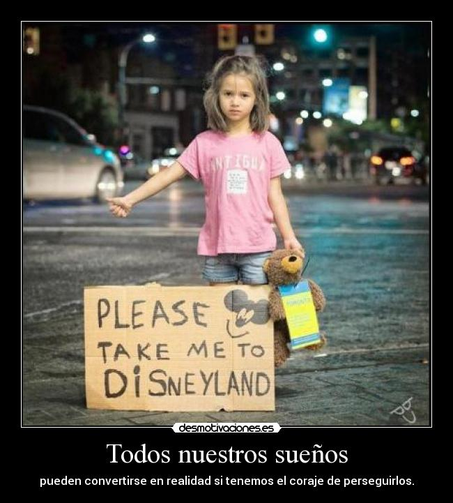 carteles please take disneyland desmotivaciones