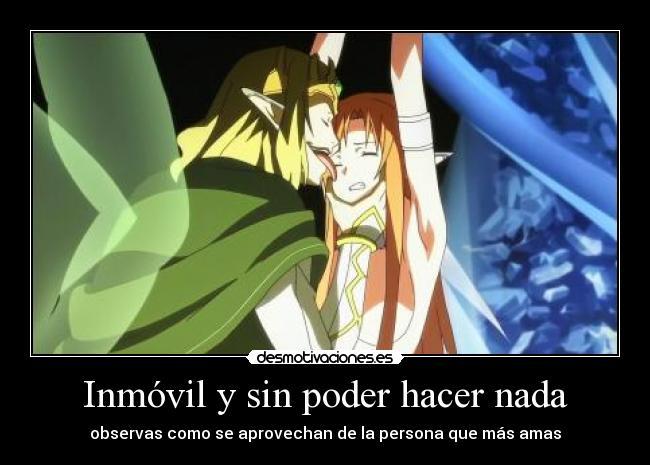 Asuna muere