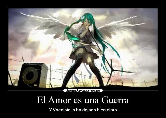 El Amor Es Una Guerra