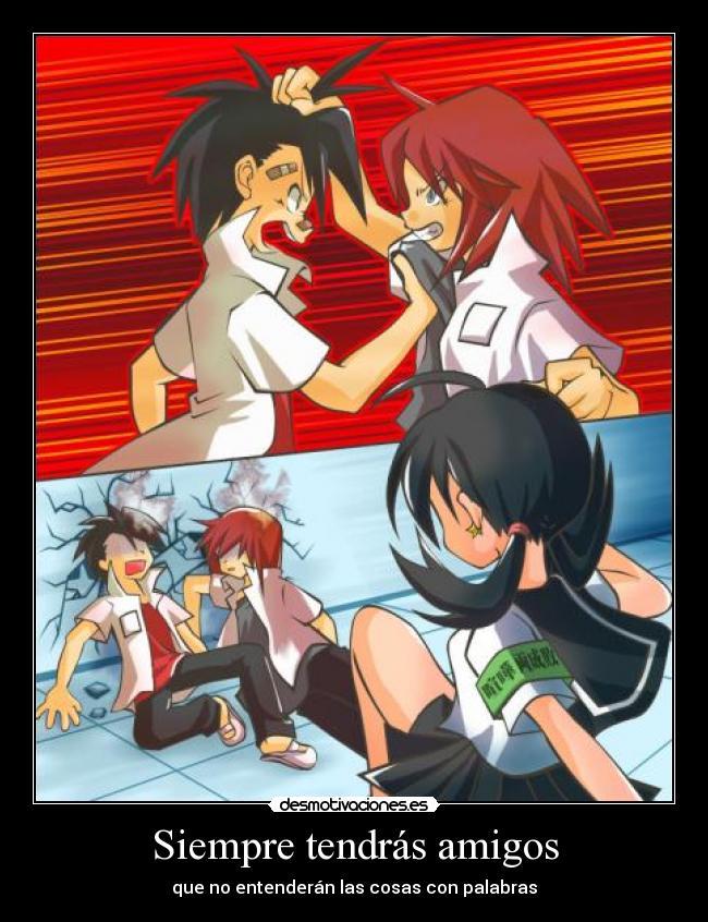 carteles amigos pokemon special trio gold silver crystal quien siempre molesta por inmadurez desmotivaciones