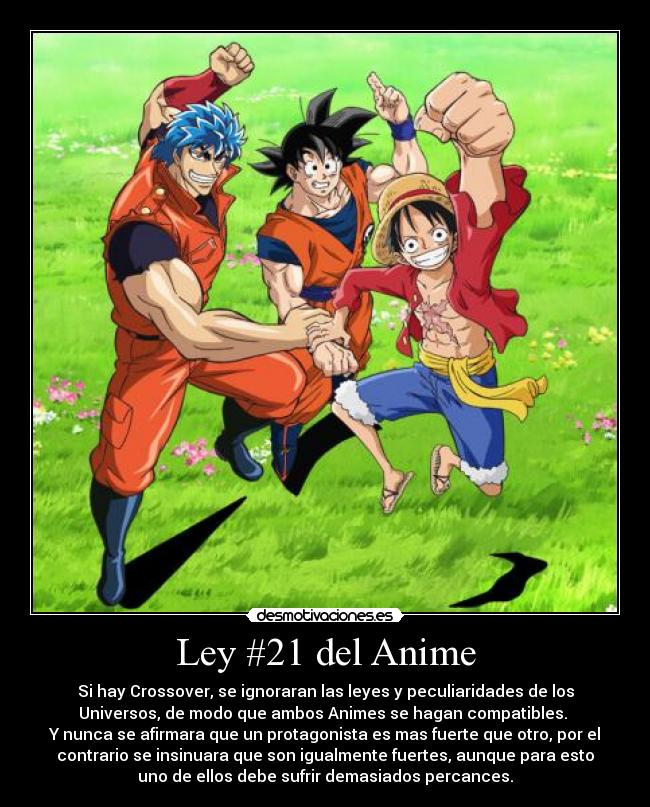 Ley #21 Del Anime