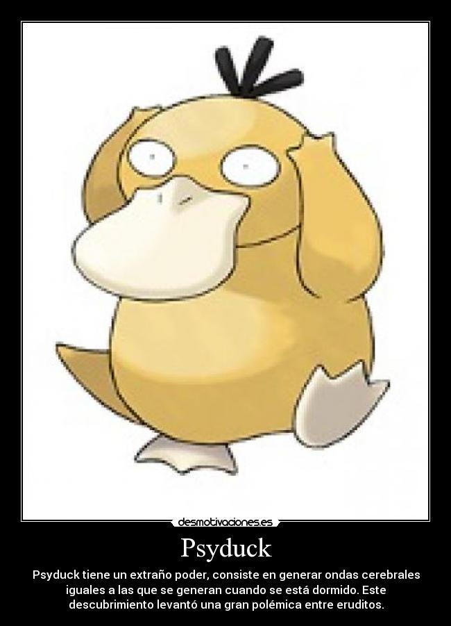 Psyduck Pokemon Pokemon numero 054 psyduck