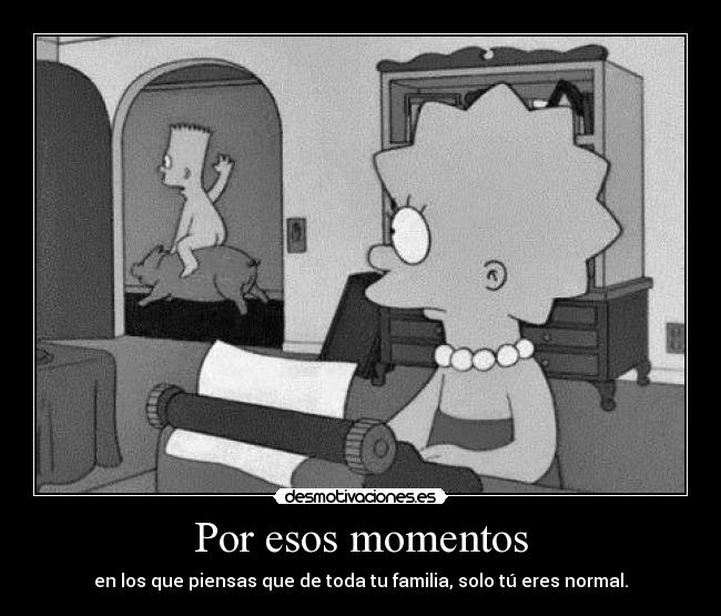 carteles the simpsons subnormales desmotivaciones