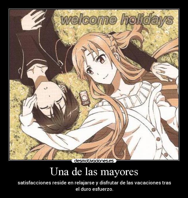 carteles asunayuuki sworldartonline sao kirito asuna anime merecen por luchar desmotivaciones