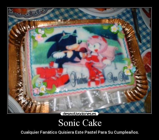 Cake Ice Cream Sonic : Cream Rabbit Sonic Cake Ideas and Designs