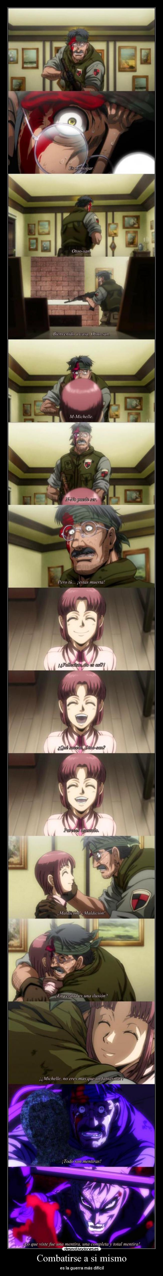 carteles anime hellsing ultimate ova tengo idea como llame soldado pero otra zorin blitz desmotivaciones