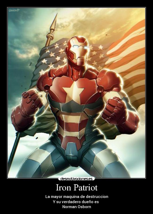 Iron patriot desmotivaciones for America todo un inmenso jardin