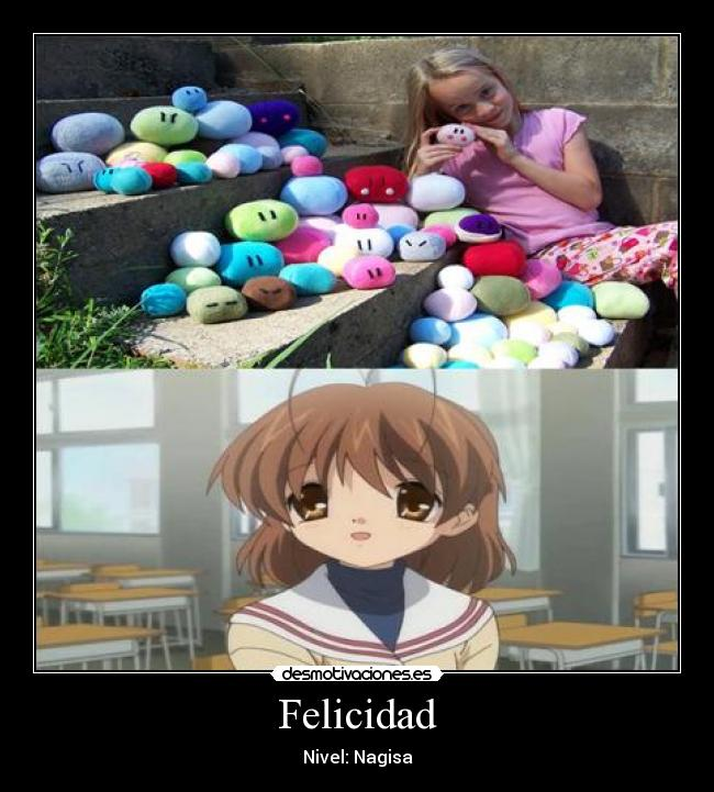 Felicidad - Nivel: Nagisa